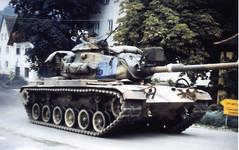 U.S. Army M60 tank.