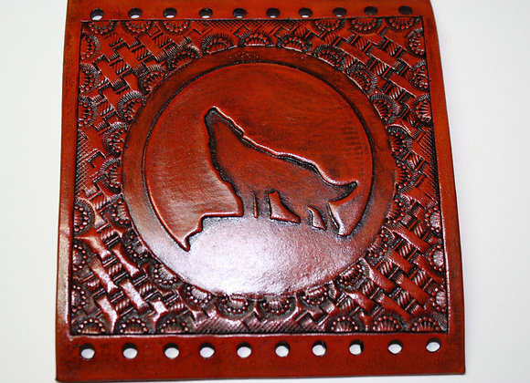 Lone Wolf with Basket Weave Leather Grip Covers