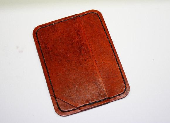 Leather Mini Me Micro Slim Small Wallet & ID Holder