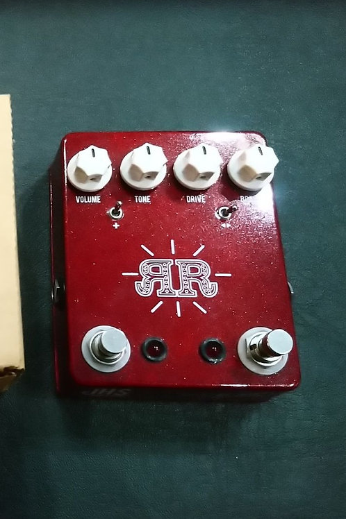 """""""Used"""" JHS Ruby Red Butch Walker Signature 2-in-1 Overdrive/Fuzz/Boost"""