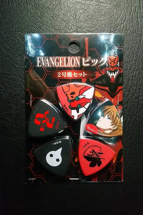 Evangelion Pick Set (2号機Set)