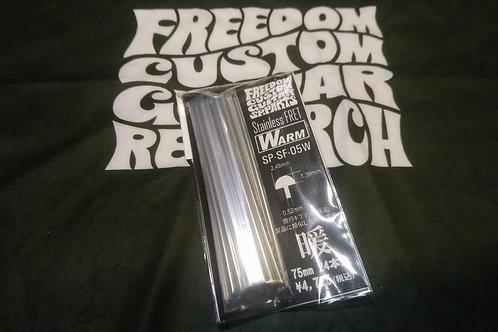 Freedom Custom Guitar Research Stainless Warm Fret SP-SF-05W