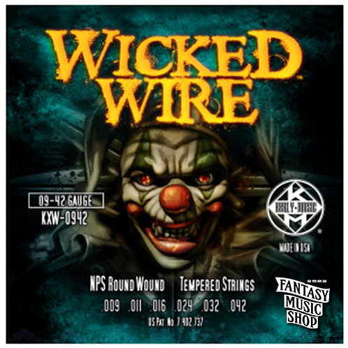 Kerly Music Wicked Wire KXW Electric Guitar Strings