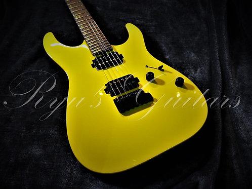 T's Guitars DST-Pro 24 Custom Canary Yellow