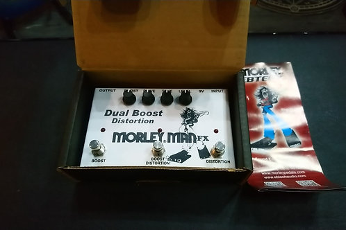 Brand New Morley Dual Boost Distortion