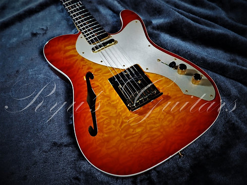"""""""Used"""" Fender Custom Shop Quilted Maple Thinline Tele 2019"""