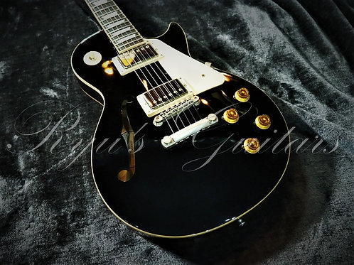 """Used"" Gibson Memphis LP ES Black Top 2015"
