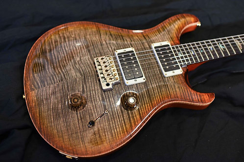 """Used"" PRS Custom 24 Burnt Maple Leaf"