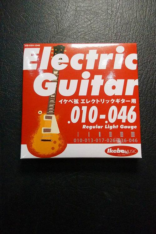 Ikebe Original Electric Guitar Strings Light (10-46)