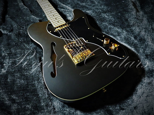 """""""Used"""" Fender Thinline Deluxe Limited Edition Satin Black"""