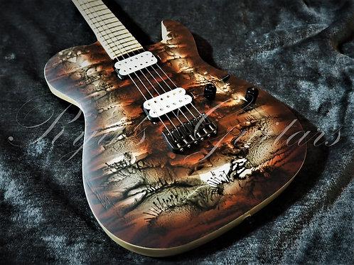 Saito Guitars S-622TLC2H Rafflesia