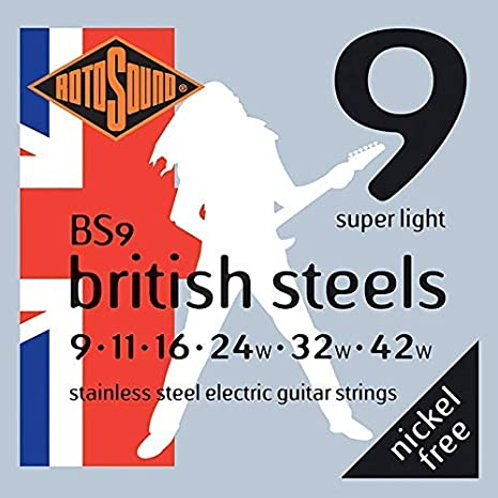 Rotosound British Steels Electric Guitar Strings