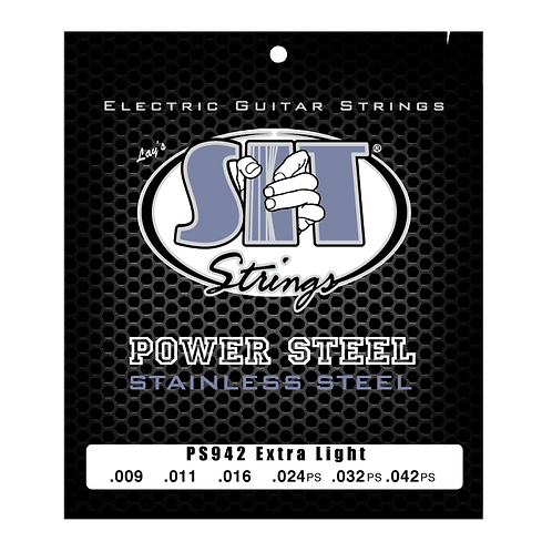 SIT Power Steel Electric Guitar String 09-42