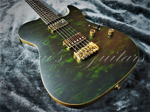 Saito Guitars S-622TLC2H Green Granite