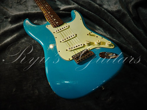 """""""Used"""" Fender Custom Shop 60 Stratocaster Taos Turquoise"""