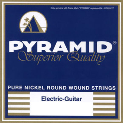 Pyramid Pure Nickel Round Wound Electric Guitar Strings