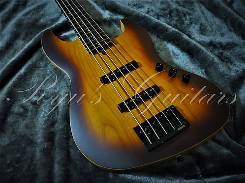 Saito Guitars S-521B Burnt