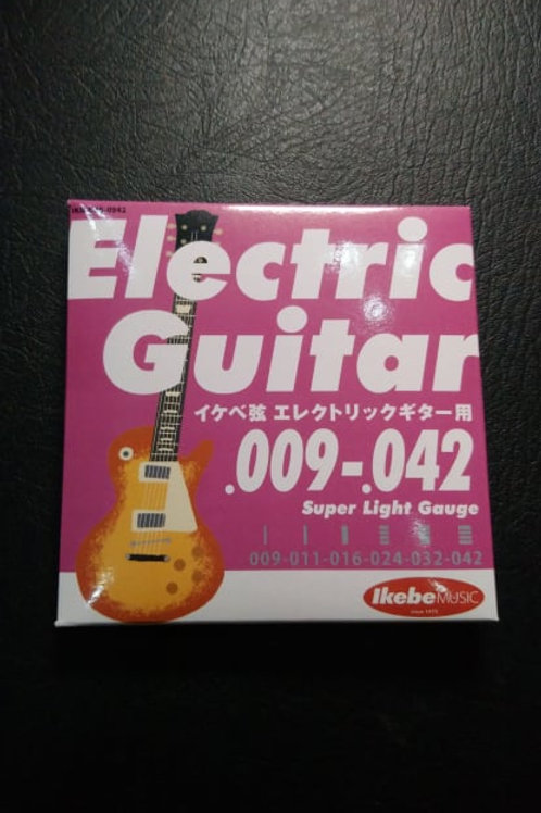 Ikebe Original Electric Guitar Strings Super Light (09-42)