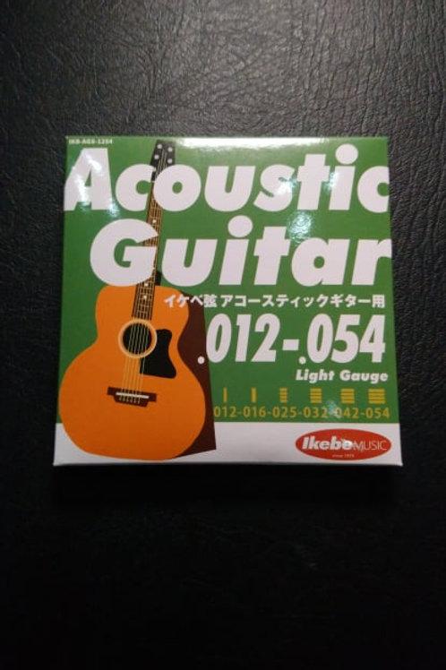 Ikebe Original Acoustic Guitar Strings Light (12-54)