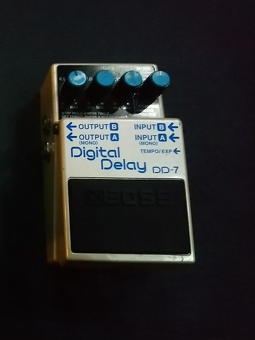 """Used"" Boss DD-7 Digital Delay"