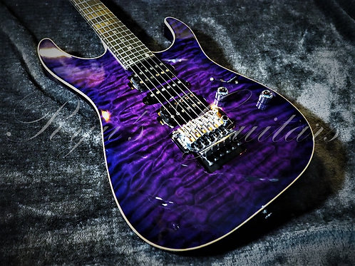 T's Guitars DST-Pro24 Trans Purple