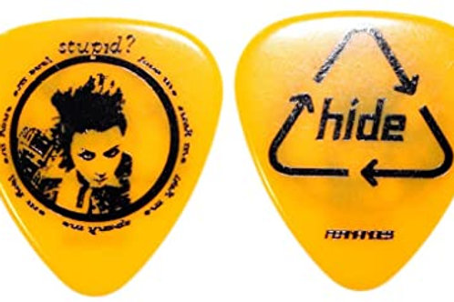 FERNANDES / Burny P-100 HIDE Pick Yellow