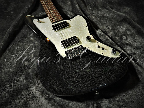"""""""Used"""" Tom Anderson Raven Superbird Black with White Dog Hair"""
