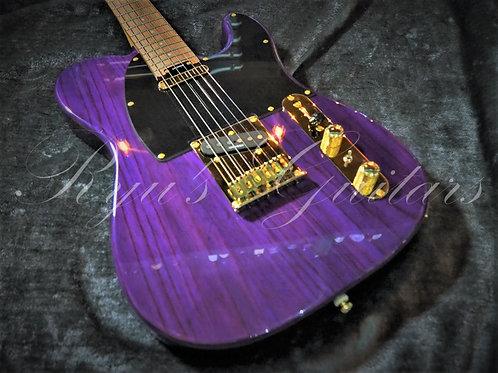 Blade Guitars Delta T-4 Misty Violet