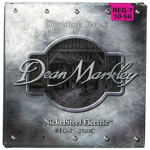 Dean Markley REG-7-2503C NickelSteel 7-String Electric Guitar Strings(10-56)