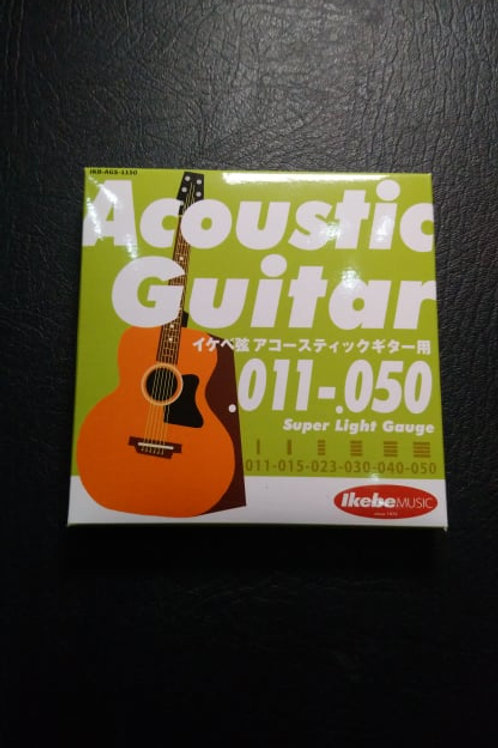 Ikebe Original Acoustic Guitar Strings Super Light (11-50)