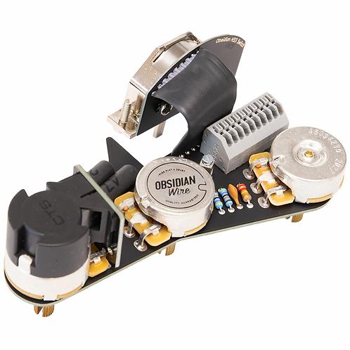 Obsidian Wire Custom HSS with 7-way Switch Option