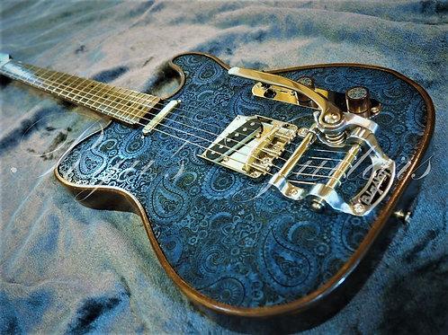 Walla Walla Marverick Paisley Bigsby Blue