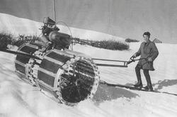 1930's 1st Motorized Roller