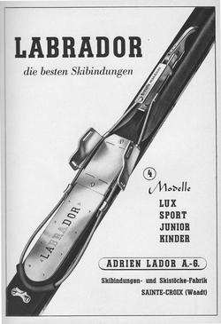 Publicité Labrador 1943