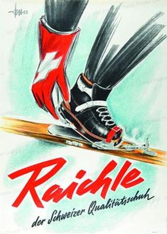 Werbung 1953 von F. Hirtzel