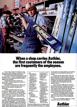 "Publicité 1976 ""SKIING"" Magazine"