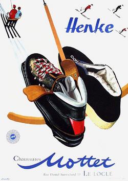 Publicité 1958 de E. Jacoby