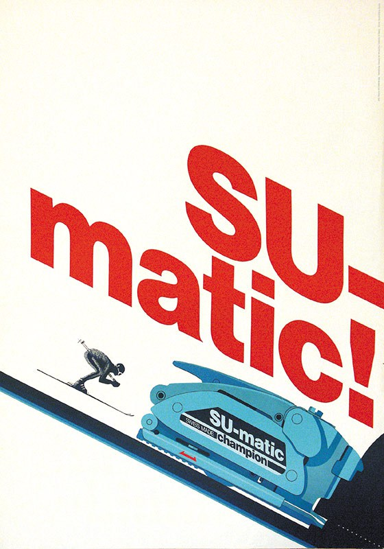Sumatic Advert 1970