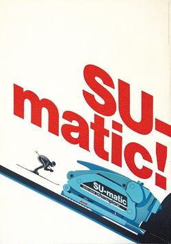 Publicité Sumatic 1970