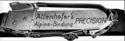 """Attenhofer """"Alpina"""" 1924"""