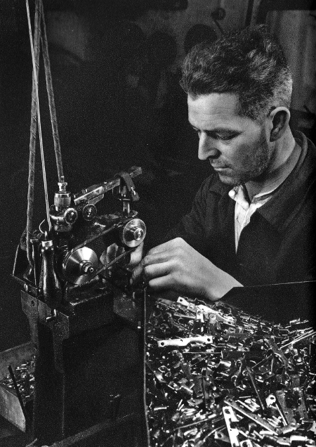 Workshop in Ste. Croix 1930's