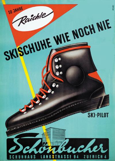 Werbung 1958 von A. Bilan