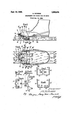 Patente Albert Schiess 1925