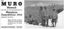 1937 Muro Anzeige