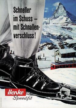 Publicité 1959 de E. Lang