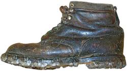 Première chaussure 1885