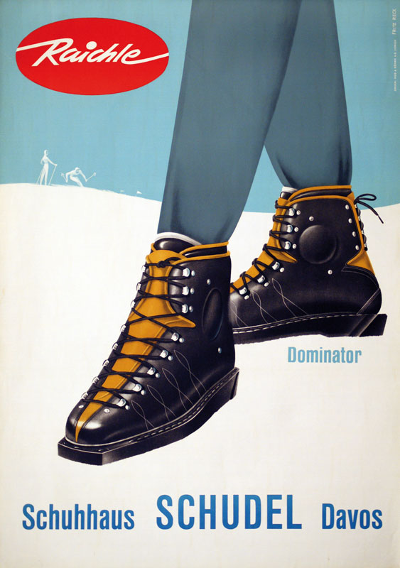 1950's Advert by F. Reck
