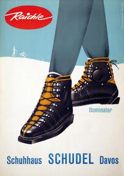 Publicité 1950's de F. Reck