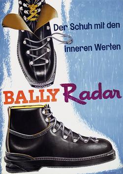 Publicité 1958 de Augsburger