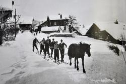 First Ski Lift (1HP) 1920's
